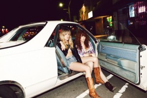Deap Vally - Photo by Brian Sheffield